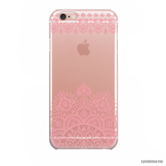 MANDALA AND FRILL LINES - PINK - iPhone 6/6s