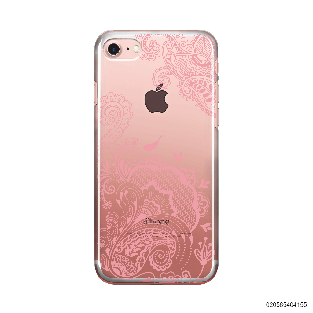 HENNA STYLE- PINK - iPhone 7