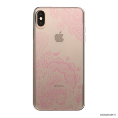 HENNA STYLE- PINK - iPhone XS Max