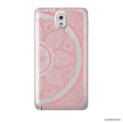 HALF OF MANDALA - PINK - Samsung Galaxy Note 3