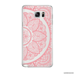HALF OF MANDALA - PINK - Samsung Galaxy Note 5