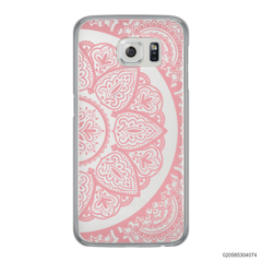 HALF OF MANDALA - PINK - Samsung Galaxy S6 Edge
