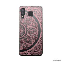 HALF OF MANDALA - PINK - Samsung Galaxy A8 Star