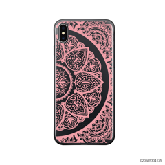 HALF OF MANDALA - PINK - iPhone X/ Xs