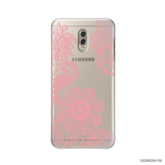 FLOWER IN HENNA STYLE - PINK - Samsung Galaxy J7 Plus