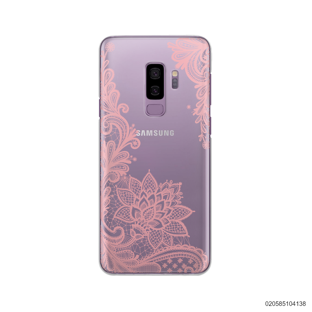 FLORAL HENNA STYLE - PINK - Samsung Galaxy S9 Plus