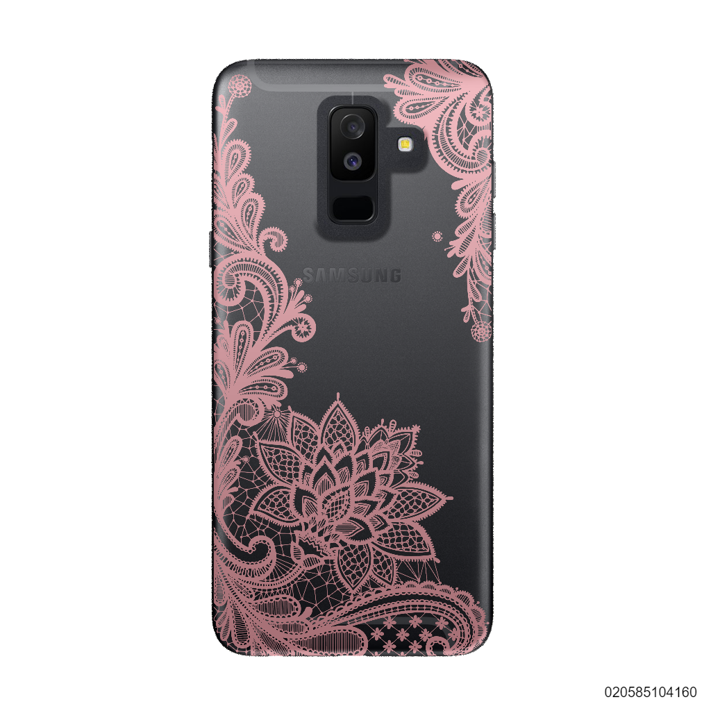 FLORAL HENNA STYLE - PINK - Samsung Galaxy A6 Plus 2018
