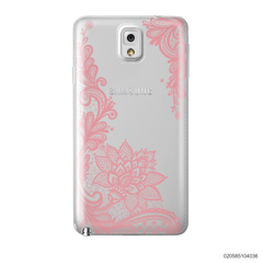 FLORAL HENNA STYLE - PINK - Samsung Galaxy Note 3