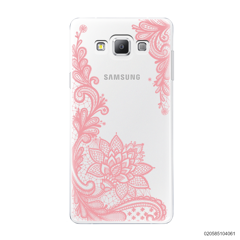 FLORAL HENNA STYLE - PINK - Samsung Galaxy A7 2015