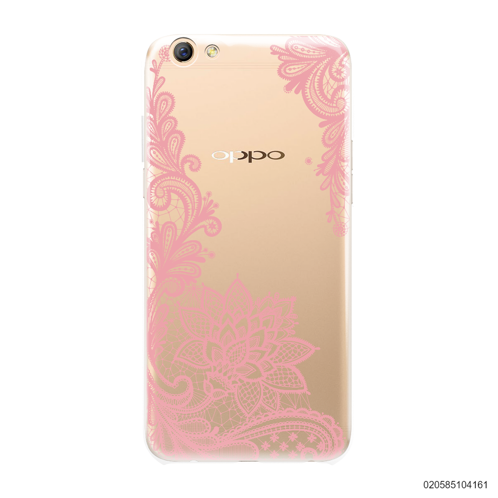 FLORAL HENNA STYLE - PINK - OPPO F3 Plus