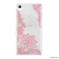 FLORAL HENNA STYLE - PINK - Sony Xperia Z2