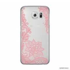 FLORAL HENNA STYLE - PINK - Samsung Galaxy S6
