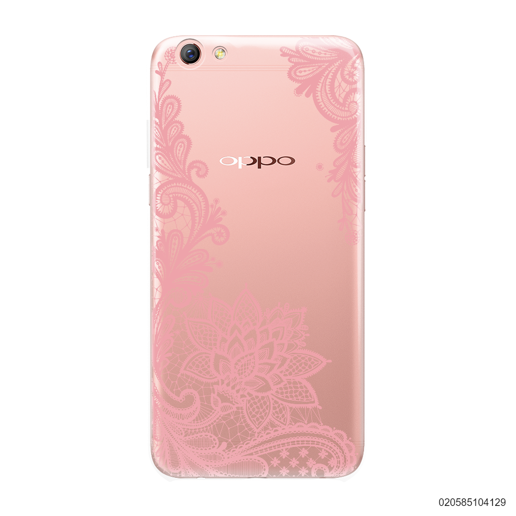 FLORAL HENNA STYLE - PINK - Oppo F3
