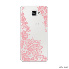 FLORAL HENNA STYLE - PINK - Samsung Galaxy A9 Pro