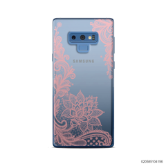 FLORAL HENNA STYLE - PINK - Samsung Galaxy Note 9
