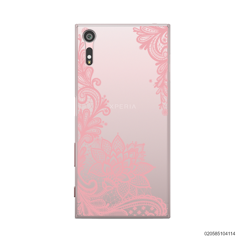 FLORAL HENNA STYLE - PINK - Sony Xperia XZ