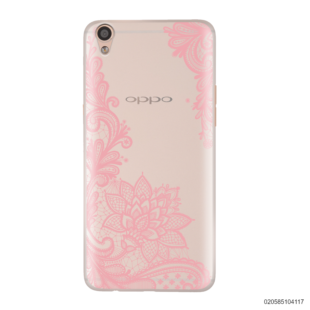 FLORAL HENNA STYLE - PINK - Oppo F1 Plus