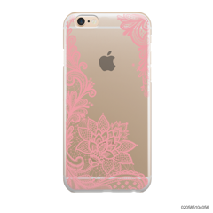FLORAL HENNA STYLE - PINK - iPhone 6/6s Plus