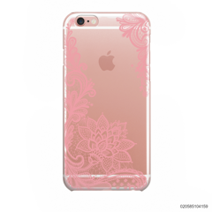 FLORAL HENNA STYLE - PINK - iPhone 6/6s
