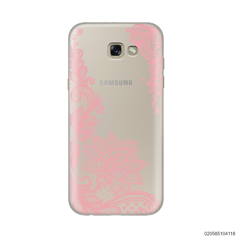 FLORAL HENNA STYLE - PINK - Samsung Galaxy A5 2017