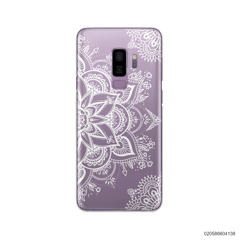 THE ART OF HENNA STYLE - WHITE - Samsung Galaxy S9 Plus