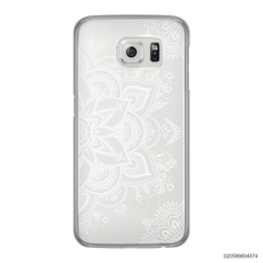 THE ART OF HENNA STYLE - WHITE - Samsung Galaxy S6 Edge