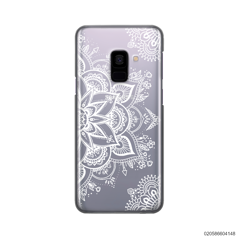 THE ART OF HENNA STYLE - WHITE - Samsung Galaxy A8 2018