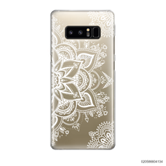 THE ART OF HENNA STYLE - WHITE - Samsung Galaxy Note 8