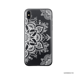 THE ART OF HENNA STYLE - WHITE - iPhone X/ Xs