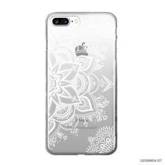 THE ART OF HENNA STYLE - WHITE - iPhone 8 Plus