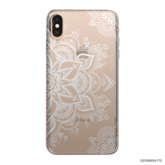 THE ART OF HENNA STYLE - WHITE - iPhone XS Max