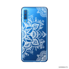 THE ART OF HENNA STYLE - WHITE - Samsung Galaxy A7 2018