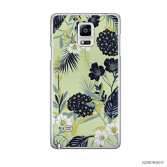 YELLOW  LUXURY FLORAL - Samsung Galaxy Note 4