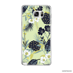 YELLOW  LUXURY FLORAL - Samsung Galaxy Note 5