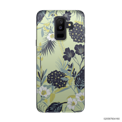 YELLOW  LUXURY FLORAL - Samsung Galaxy A6 Plus 2018