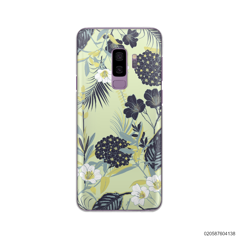 YELLOW  LUXURY FLORAL - Samsung Galaxy S9 Plus