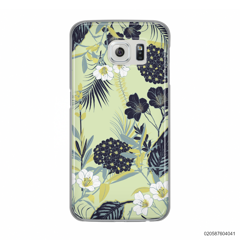 YELLOW  LUXURY FLORAL - Samsung Galaxy S6