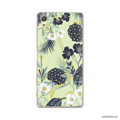 YELLOW  LUXURY FLORAL - Sony Xperia X