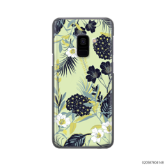 YELLOW  LUXURY FLORAL - Samsung Galaxy A8 2018