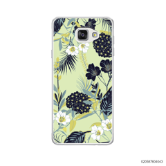 YELLOW  LUXURY FLORAL - Samsung Galaxy A5 2016