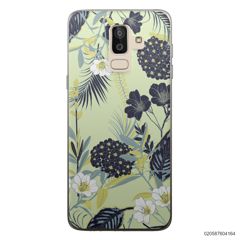 YELLOW  LUXURY FLORAL - Samsung Galaxy J8 2018