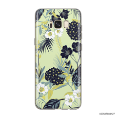 YELLOW  LUXURY FLORAL - Samsung Galaxy S8