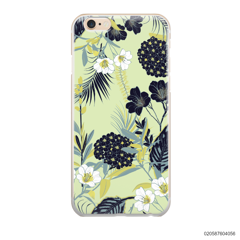 YELLOW  LUXURY FLORAL - iPhone 6/6s Plus