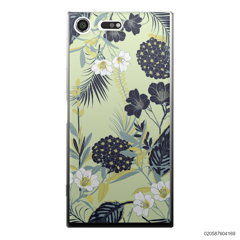 YELLOW  LUXURY FLORAL - Sony Xperia XZ Premium