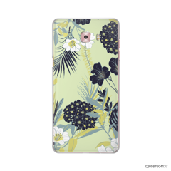YELLOW  LUXURY FLORAL - Samsung Galaxy C9 Pro