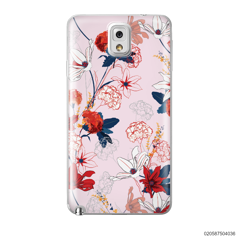 RED  LUXURY FLORAL - Samsung Galaxy Note 3