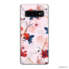 RED  LUXURY FLORAL - Samsung Galaxy S10 Plus