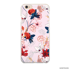 RED  LUXURY FLORAL - iPhone 6/6s Plus