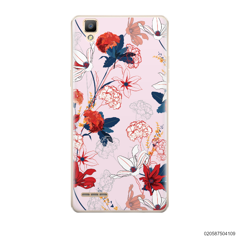 RED  LUXURY FLORAL - Oppo F1