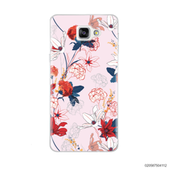 RED  LUXURY FLORAL - Samsung Galaxy A9 Pro